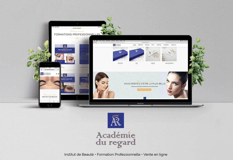 realisation_site_internet_institut_beaute_academie_du_regard